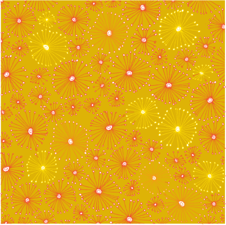 fireworks flowers 2 color