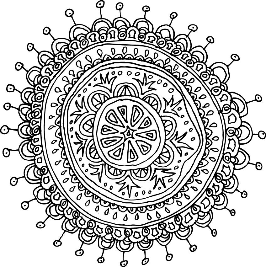 Mandalas Pattern Of The Day