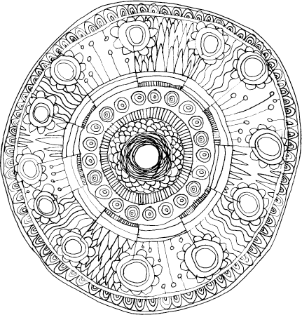 petal mandala