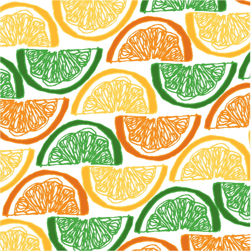 Our next segment: fruits and veggies | pattern of the day